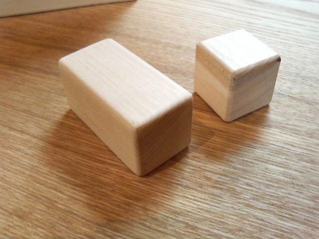 角はすべて丸く面取りしてありますので、手に優しい形です。